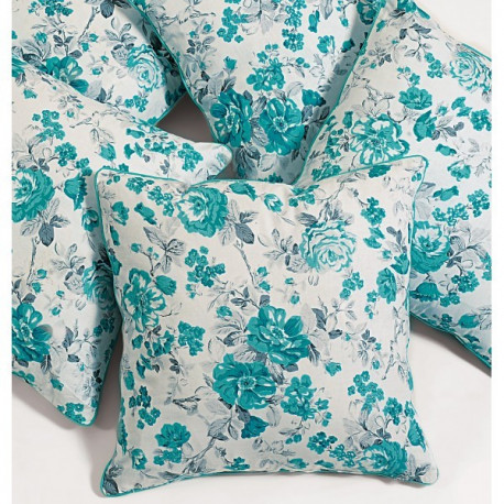 Emerald Rose Cushion Cover-2711