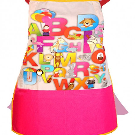 Letters and Animals Kids Apron- KAP-132