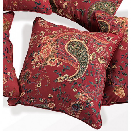 Red Blossoms Cushion Cover-3002