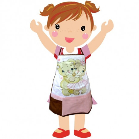 Dancing Bears Kids Apron - KAP-173