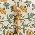 Yellow Poppies Cushion Cover-3701