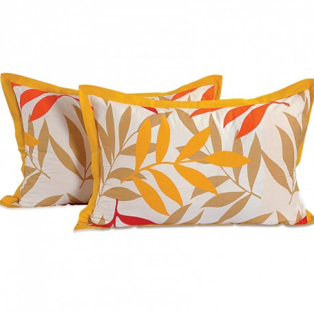 Yellow Leaves Pillow Cover- 5904
