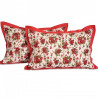 Red Roses Pillow Cover- 6904
