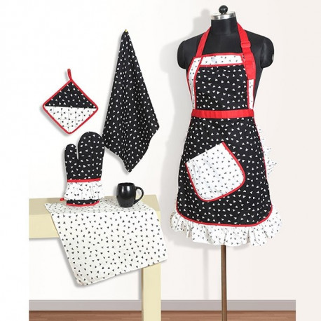 Frilly Apron Set - FA2302