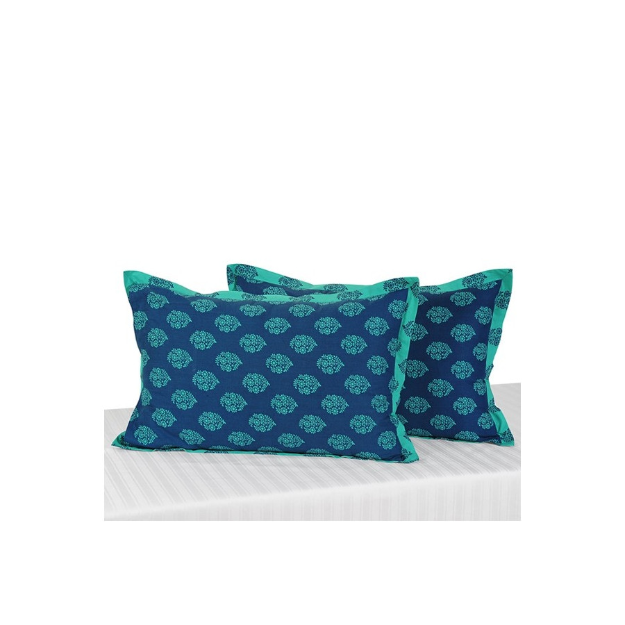 Green Daisy Pillow Cover Buy Green Decorative Pillow Covers Online Custom Teal Green Decorative Pillows
