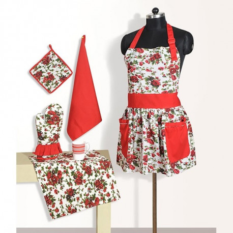Frilly Apron Set - FA6904