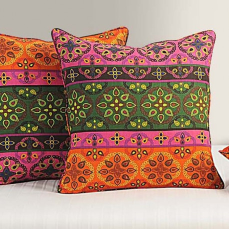 Ethnic Ivy Cushion Cover-1424