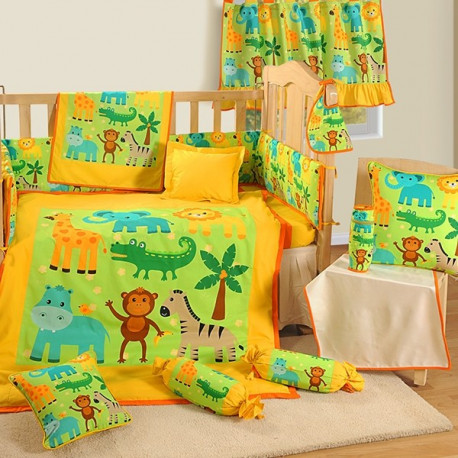 Croc Friends Baby Cot Set-162