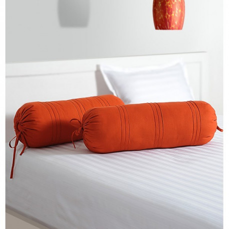 Rust Bolster Cover