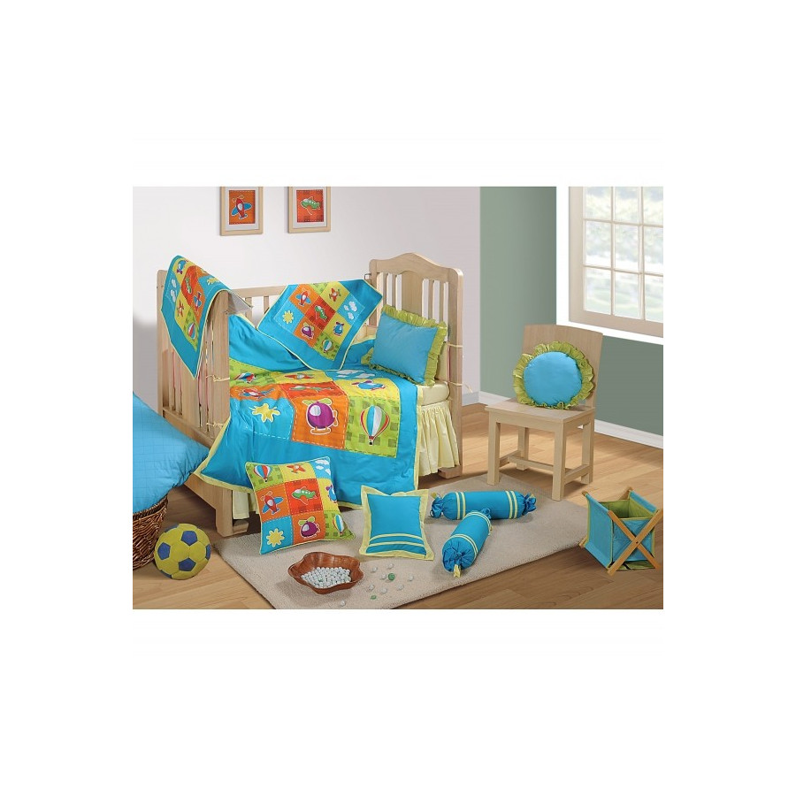 BCS-Engine Baby Cot Set-1012