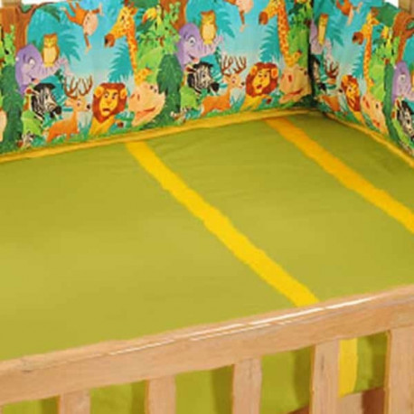 Jungle Animals Cot Bumper- 134