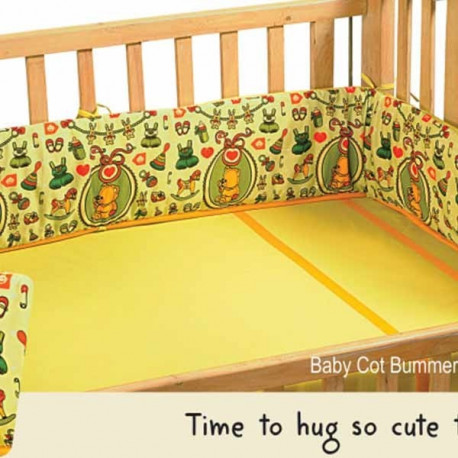Kids Teddy Cot Bumper – 1009