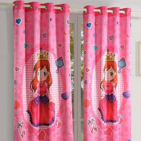 Super Girl Kids Curtains-176