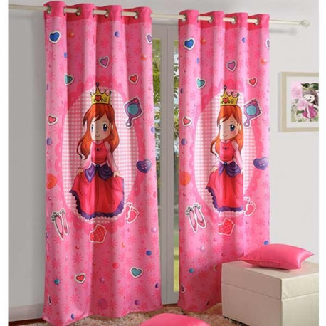 Power Girl Kids Curtains- 136