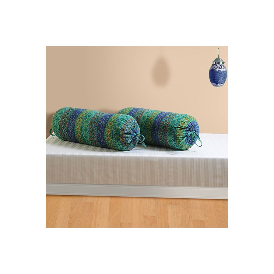 Mystic Green Bolster Cover-1423