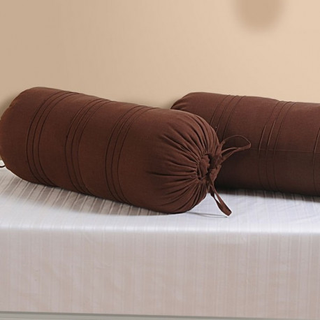 Brown Bolster Cover