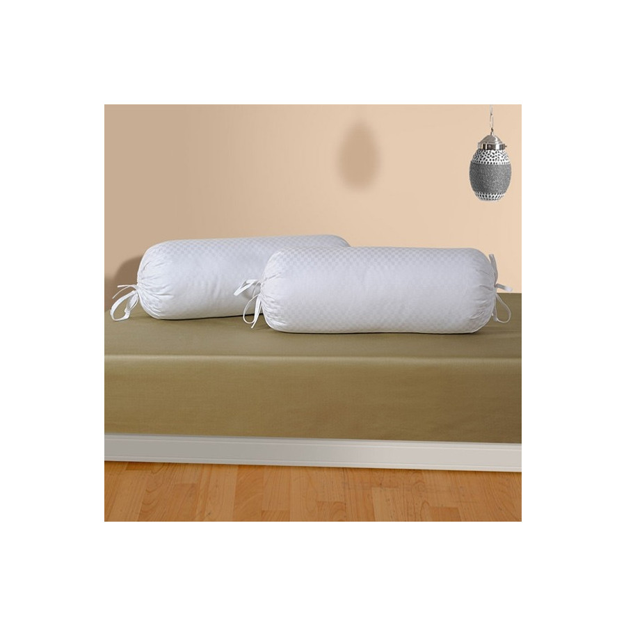 White Bolster Cover