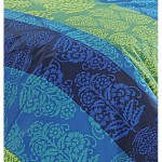 Blue Desire Bed Sheet- Shades of Paradise (D. No.1302)