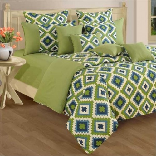 Pear Green Bed Sheet U2013 Shades Of Paradise   1408
