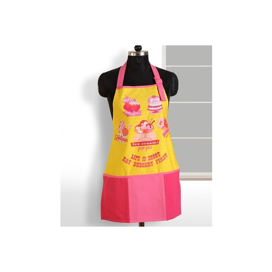 Yellow Pink Digital Aprons – APT-6005
