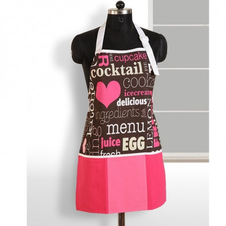 Pink Heart Digital Aprons – APT-6006
