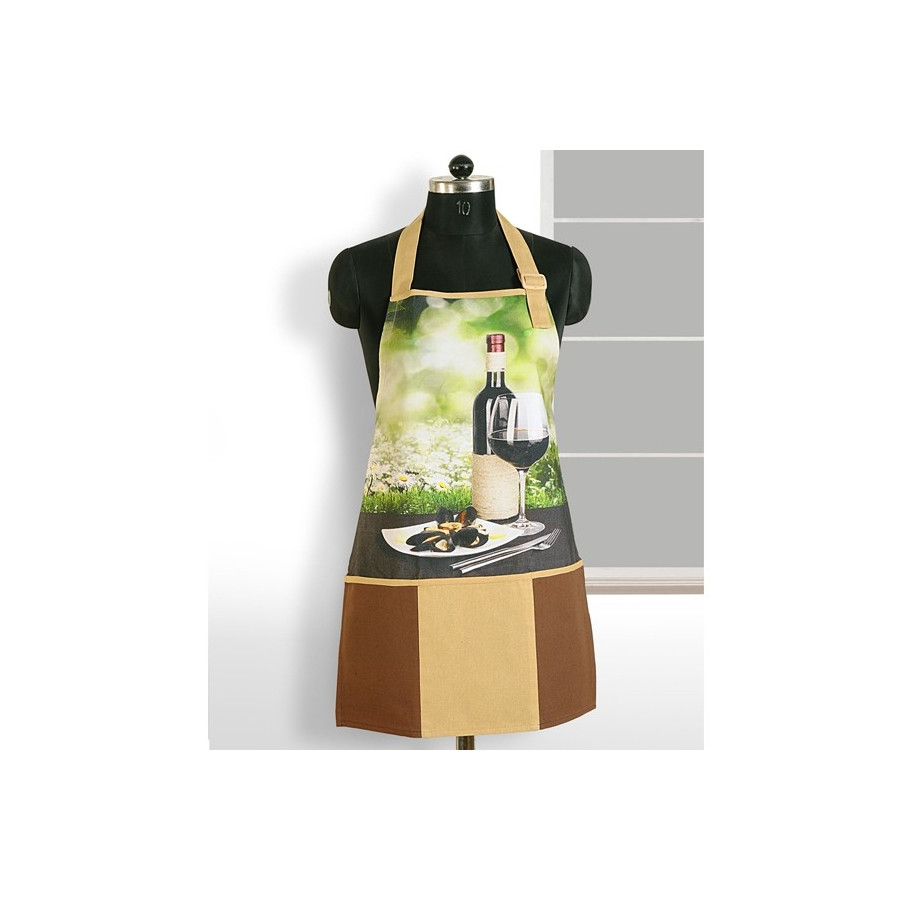 Wine Time Digital Aprons – APT-6003