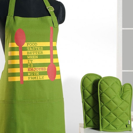 Best Green Graffiti Apron- Apg03-G019