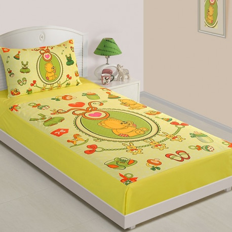 Baby Teddy Single Bed Sheet SKB-1009