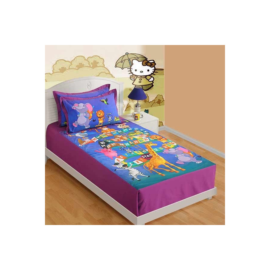 Board Game Single Bed Sheet SKB-194
