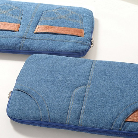 Blue Jeans Laptop Sleeves- DLS01-01