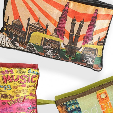 Quirky Printed Pouches- Set B