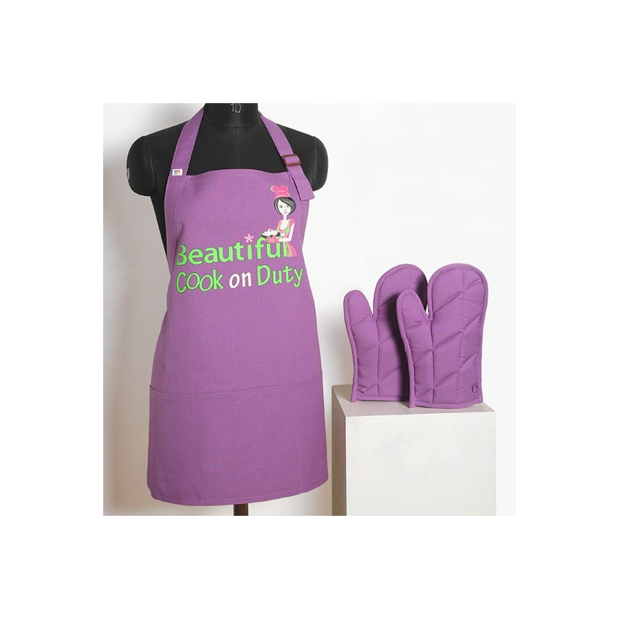 Beautiful Cook Graffiti Apron -APG03