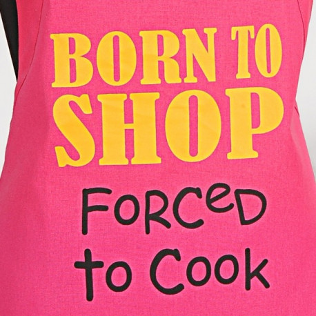 Born To Shop Graffiti Apron- APG03