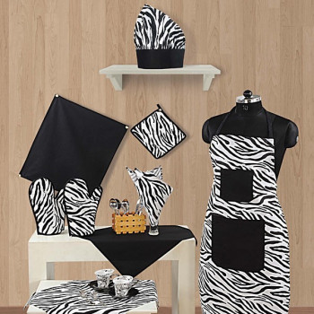 Black & White Kitchen Linen D.No-2802