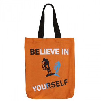 Believe Yourself Canvas Graffiti Bag- GCB01- 509