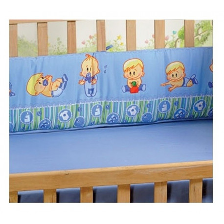 Play Time Cot Bumper- Infant Boy