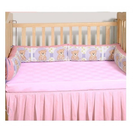 Sweet Teddy Cot Bumper- Teddy