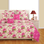 Pink Morning Satin Bed Sheets – 1934