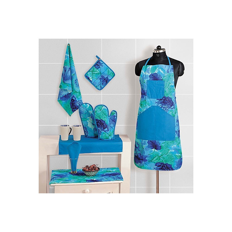 Royal Blue Kitchen Linen – 6715