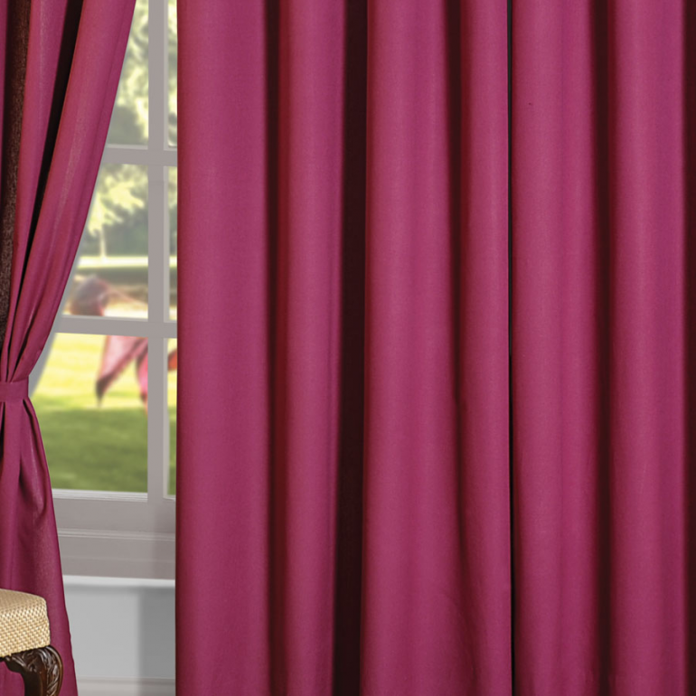 Buy Mulberry Flavor Printed Cotton Curtains Online for Living Room ...