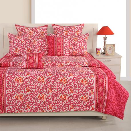 Vibrant Tradition Sparkle Bed Sheet- 1278