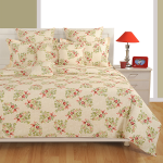 Red Blooms Ananda Bed Sheet-1890