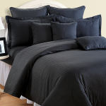 Black Beauty Bed Sheets- Beauteous Black