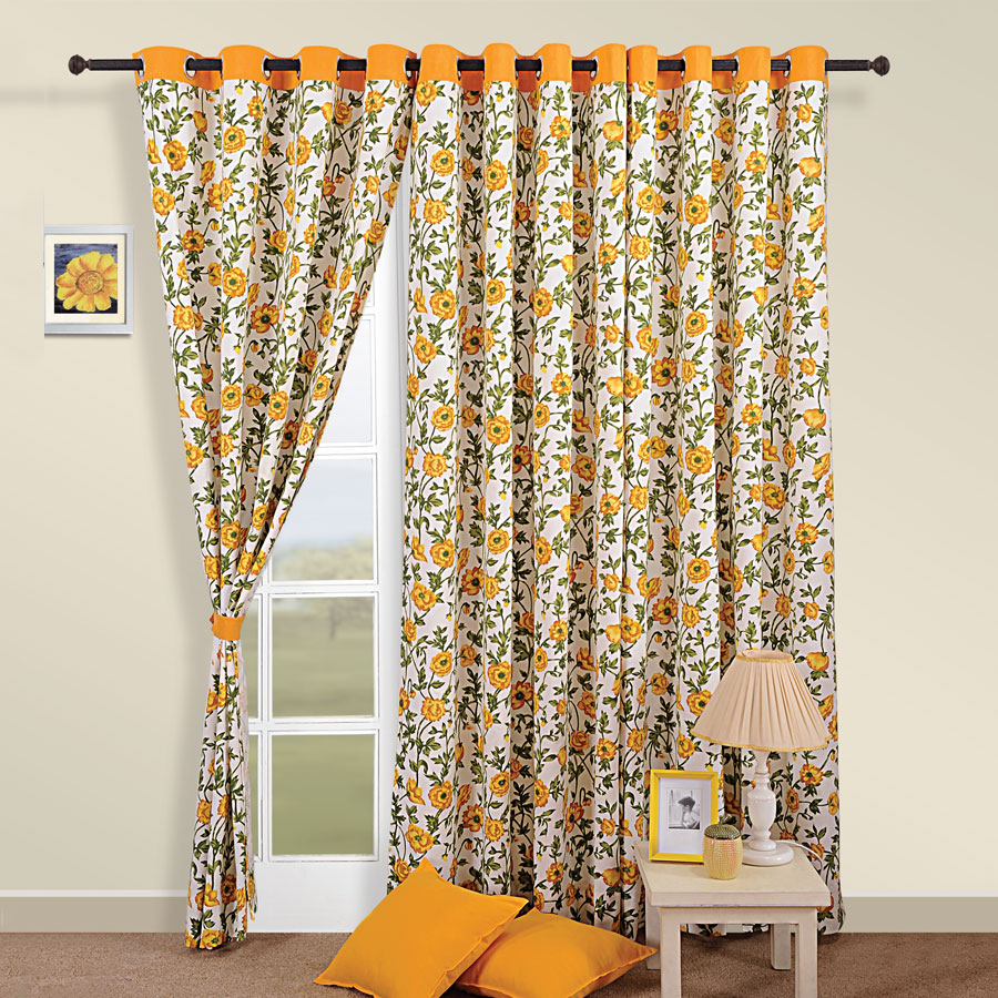 Sunrise Yellow Curtain 3701