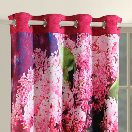 Flower-Lavender Lounge Curtains-1109