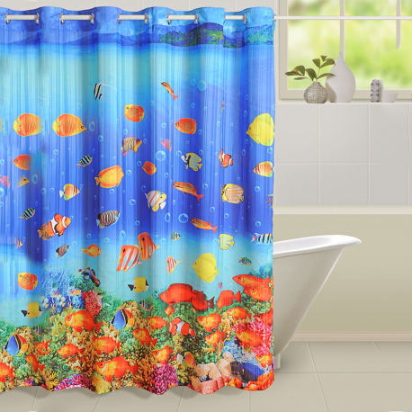 Aquatic Life Shower Curtains – 5602