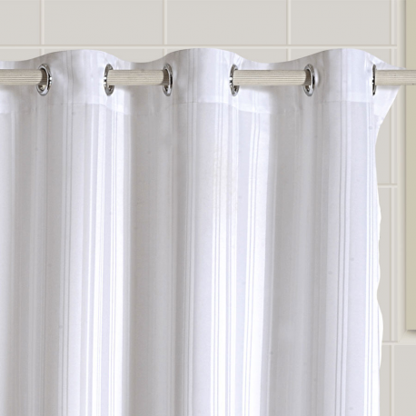 White Chic Shower Curtains – 5500