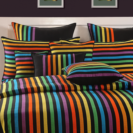 Vivid Rainbow Fitted Bed Sheet – Magical Linea- 1504