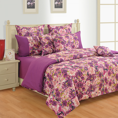 Colors Of Life Bed Sheet  2604