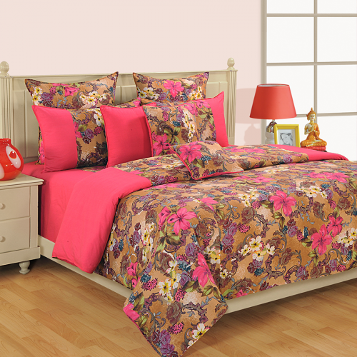 Pink Copper Bed Sheets U2013 COL 2608